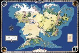 Map Of Equator Tolkiens Legendarium Where Is The Equator In Middle Earth