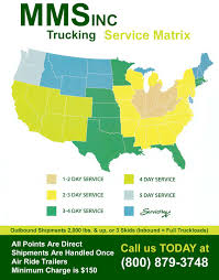 Continental United States Map mms trucking is a large family owned trucking and brokerage