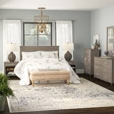 laurel foundry modern farmhouse valencia queen 6 piece bedroom set