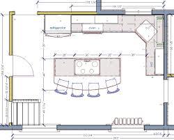 kitchen island design plans kitchen floor plans with island extraordinary kitchen floor plans