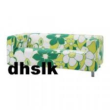 Green Sofa Slipcover by Ikea Klippan Loveseat Sofa Slipcover Cover Vimle Green Mod Floral