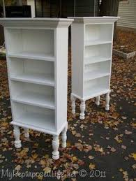 Turning Dresser Into Bookshelf Turn A Dresser Into A Book Shelf Or Open Pantry Cabinet For Home