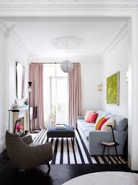 Armchair Books Living Room Black And White Striped Pattern Rug Pink Double