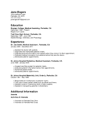 Sample Resume For Zero Experience by Sample Resume For Teacher Assistant With No Experience