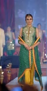 mehndi dresses 2014 by maria b in pakistan sharara by nomi ansari