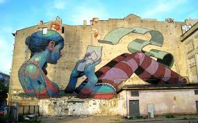 Mural Wall Art by Huge Street Art Murals Transform City Of Lodz In Poland Huffpost