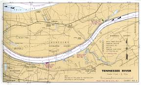 map of ky and surrounding areas tennessee river navigation charts of kentucky lake lake barkley