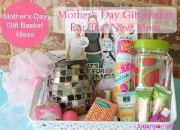 mothers day gift baskets s day gift basket for the new logan can