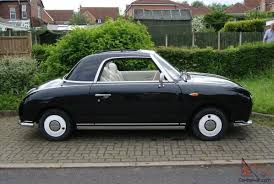 classic nissan classic nissan figaro in black
