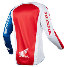 fox jersey motocross 2018 fox racing 180 honda jersey red sixstar racing