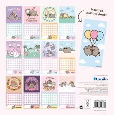 minion desk calendar 2017 pusheen the cat calendar 2018 calendar club uk
