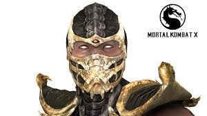 Mortal Kombat Scorpion Halloween Costume Mortal Kombat Tournament Scorpion 3d Model