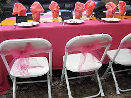 bows for chairs 6 creative uses for tulle pacific party canopies