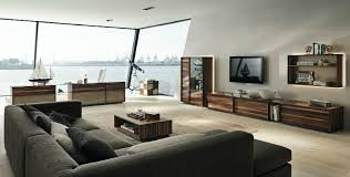 Wooden Furniture In A Contemporary Setting - Living room designs 2012