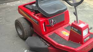 murray 8 30 briggs stratton 8hp ride on sit on lawnmower youtube