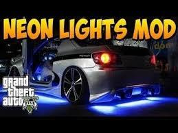Neon Lights In Cars Interior Gta V Online Neon Lights Mod Interior U0026 Underglow Car Neon