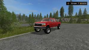 Ford Ranger Truck Mods - 1996 ford f 350 v2 fs17 farming simulator 17 mod fs 2017 mod