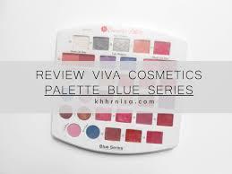 Eyeshadow Viva Murah review viva cosmetics palette refill blue series sugar by