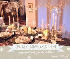 engagement party decoration ideas home engagement party decoration ideas home sparkly snowflakes theme