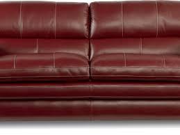 La Z Boy Maverick Mahogany by Lazy Boy Red Leather Sofa Centerfieldbar Com