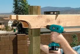 diy build a pergola easy diy and crafts