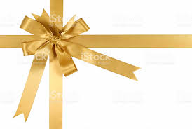 gold gift wrap gold gift ribbon and bow stock photo more pictures of angle istock