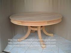 Unfinished Dining Room Tables Unfinished Mahogany Furniture Round Chippendale Dining Table