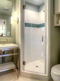 Bathroom Shower Units Small Shower Enclosure Image Of Corner Shower Stalls For Small