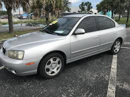 2001 hyundai elantra gls 2001 hyundai elantra gls in florida for sale 12 used cars from