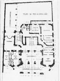 plan of the hôtel d u0027etampes paris building plans pinterest