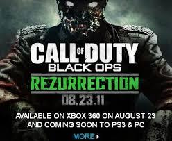 rezurrection map pack black ops rezurrection map pack revealed