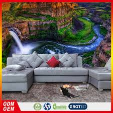 waterfall scenery wallpaper home decoration wallpaper in saudi