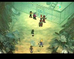 Ffvii World Map advent children was just so out of character ign boards