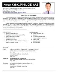 Resume Examples For Engineering Students Sample Resume For Industrial Engineer Resume Sample Resume