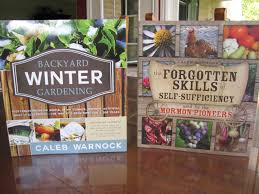 prepare today recommended reading backyard winter gardening by