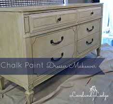 chalk paint makeover dresser into tv stand loveland lodge