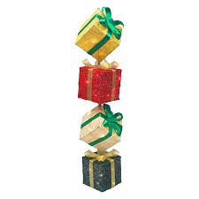 lighted gift boxes christmas decorations u2013 decoration image idea