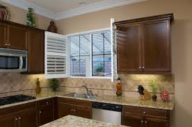 How To Tile A Kitchen Window Sill Shutters And Plantation Shutters Photo Gallery Danmer Ca