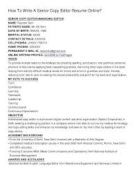 photo editor resume sample ideas collection copy editor resume
