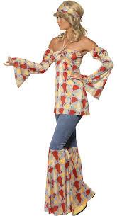 Potato Head Ladies Fancy Dress Women Disco 70 Costume Vintage 70s Hippie Costume 70s