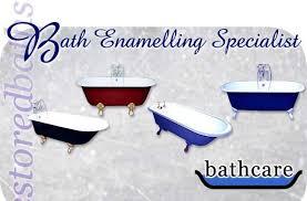 Bathtub Re Enamel Bathcare Uk Bath Enamelling Restoration And Repair Plymouth