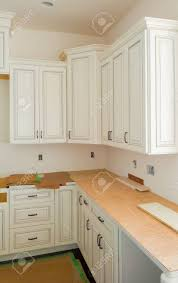 how to install base cabinets island installation of kitchen custom kitchen cabinets in various stages
