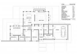 level floor house plan modern one level house plans house interior one level
