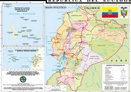 Chicago Political Map by Cities Map Of Ecuador