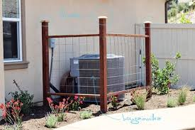 Trellis Landscaping Air Conditioner Vine Trellis Site Layout Plans Pinterest