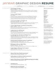 ideen graphic design resume examples pdf und elegante graphic
