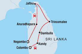 Sri Lanka Map Blank by Sri Lanka Explorer Sri Lanka Tours Intrepid Travel Us