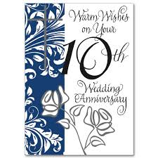 10th wedding anniversary warm wishes on your 10th wedding anniversary 10th wedding