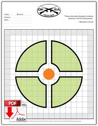 printable shooting targets pdf printable shooting targets oklahoma 2nd amendment association