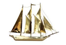 vintage brass nautical ship decor omero home